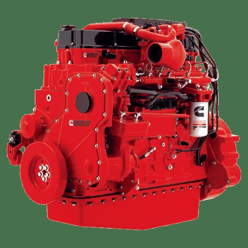 двигатель Cummins QSL 8.9
