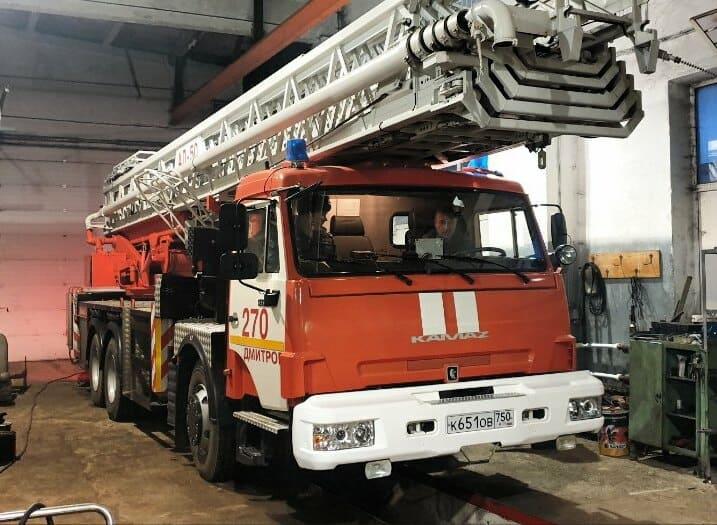 Пожарная машина-1