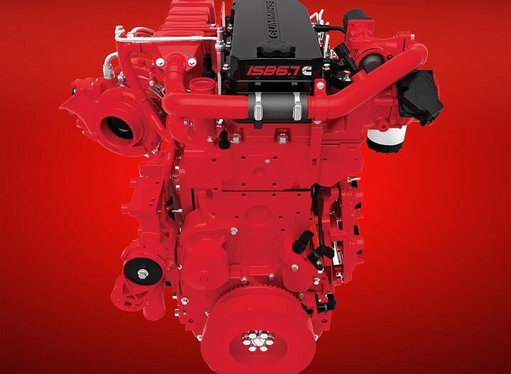 двигатель cummins isb6.7